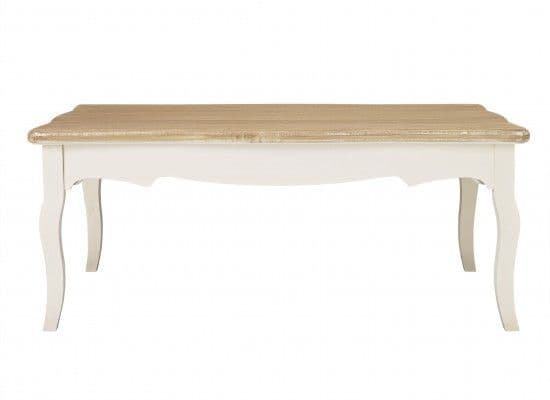 Rennes Soft White And Cream Coffee Table 17LD380